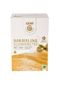 Bio Schwarztee Darjeeling Teebeutel