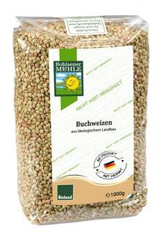 Buchweizen, bio