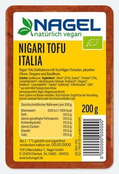 Nigari Tofu Italia 200g