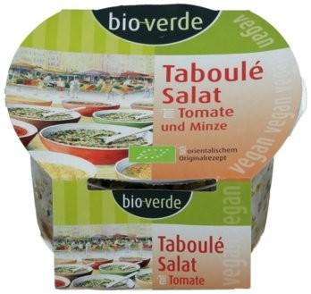 Taboulé-Salat mit Tomate und Minze, vegan
