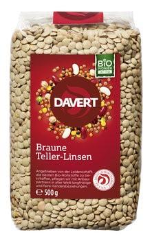 Braune Teller-Linsen 500g