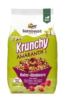 Krunchy Amaranth Hafer-Himbeere