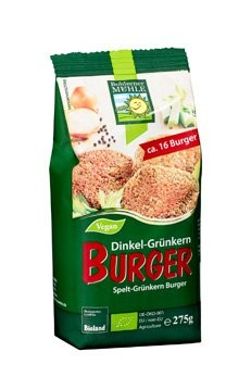 Dinkel-Grünkern Burger