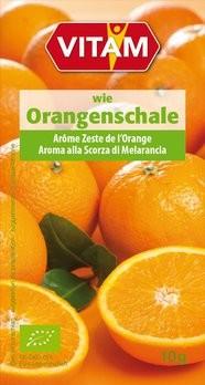 wie Orangenschale