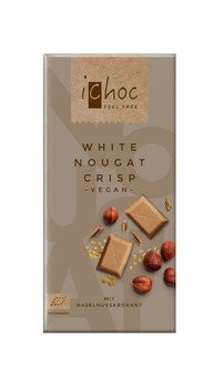 White Nougat Crisp Rice Choc