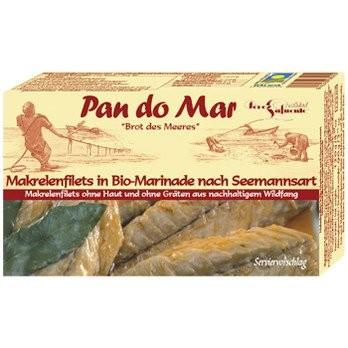 Makrelenfilets in Bio-Marinade