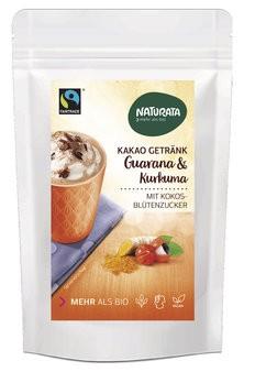 Kakao Getränk Guarana u.Kurkuma,bio