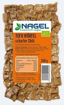 TOFU WÜRFEL scharfer Chili 200g