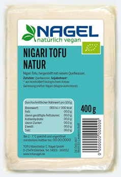 Nigari Tofu Natur 400g