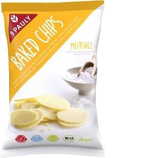 GF Baked Chips Meersalz, bio