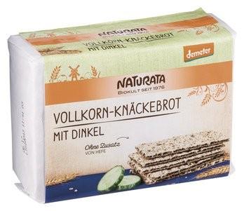 VK-Knäckebrot m.Dinkel Demeter