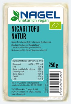 Nigari Tofu Natur 250g