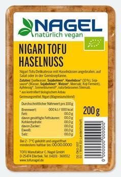 Nigari Tofu Haselnuss 200g