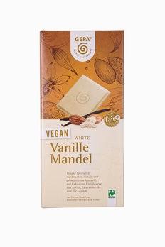 Veg.Schokol.White Vanille Mandel,bi