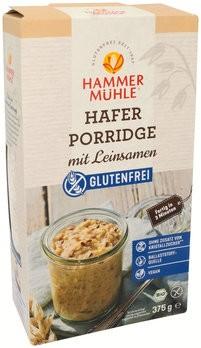 Hafer Porridge mit Leinsamen, bio