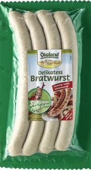 Delikatess Bratwurst ´alias Superwurst´