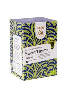 Sweet Thyme Tee, bio