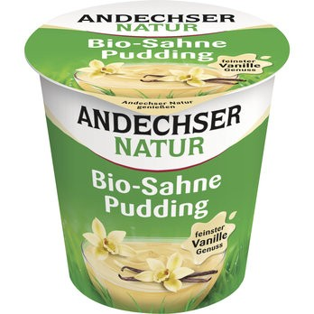 Bio Sahne-Pudding Vanille 10%