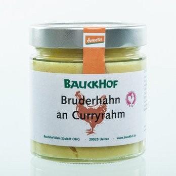 Bruderhahn an Curryrahm