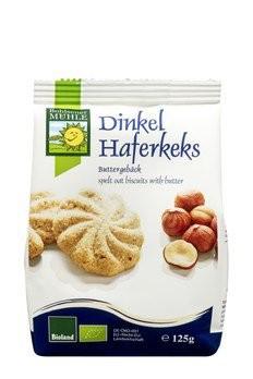 Dinkel-Haferkeks