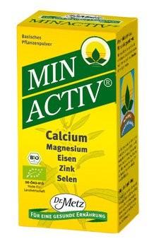 Minactiv® - Basische Mineralstoffe aus Pflanzen