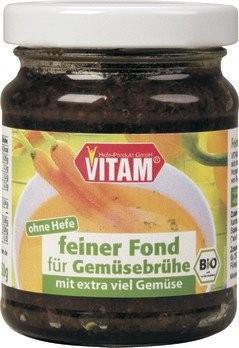 Feiner Fond für Gemüsebrühe, bio