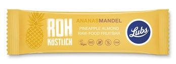 Fruchtriegel Ananas-Mandel