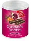 Granatapfel-Sanddorn Gelee-Stäbchen