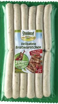 Delikatess Bratwürstchen 'alias Superwurst'
