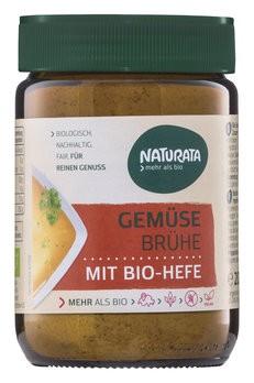 Gemüsebrühe Bio-Hefe Glas
