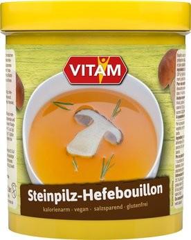 Steinpilz-Hefebrühe