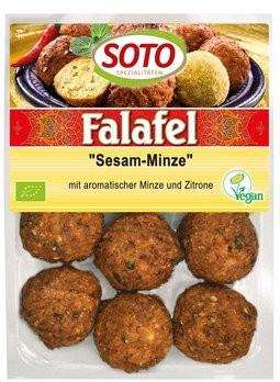 Falafel-Bällis Sesam-Minze