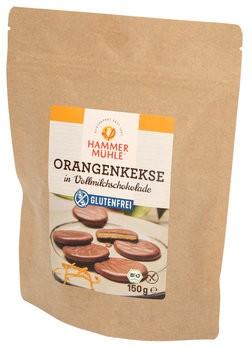 Orangenkekse in VM-Schokolade, bio