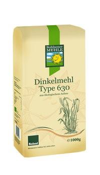 Dinkelmehl Type 630, bioland