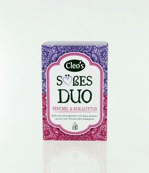 'Süßes Duo Tee Cleo''s 18 Fb, bio'