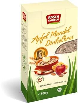 Apfel-Mandel-Dinkelbrei