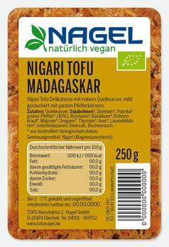 Nigari Tofu Madagaskar 250g