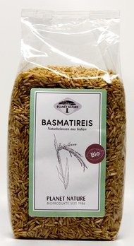 Basmatireis natur, bio
