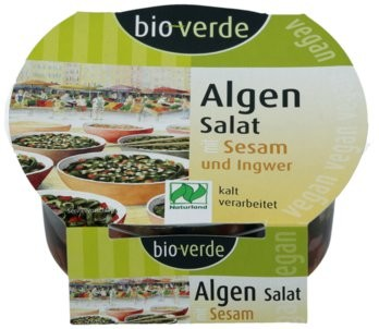 Algen-Salat Wasabi 100g NATURLAND
