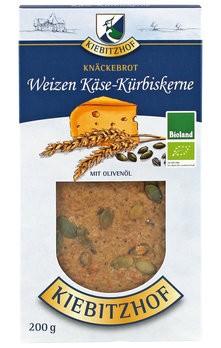 Weizenknäckebrot Käse/Kürbis