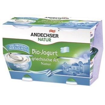 AN Bio-Jogurt griechische Art 0,2% 4x100g Cluster