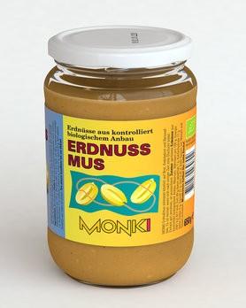 Erdnussmus, bio Monki