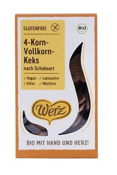 4-Korn-Vollkorn-Schoko-Keks, bio