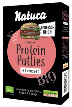 Frika Fix Leinsaat Protein Patties