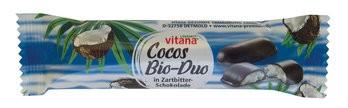 Kokosriegel in Zartbitterschokolade (24%)